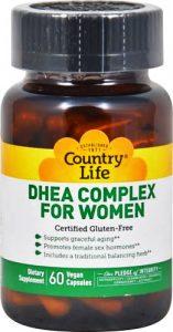 DHEA Complexe pour Femmes - 60 capsules vegan