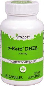 7-Keto DHEA 100 mg - 120 capsules