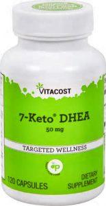 7-Keto DHEA 50 mg - 120 capsules