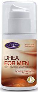DHEA crème pour hommes avec ginseng et saw palmetto - 120 ml